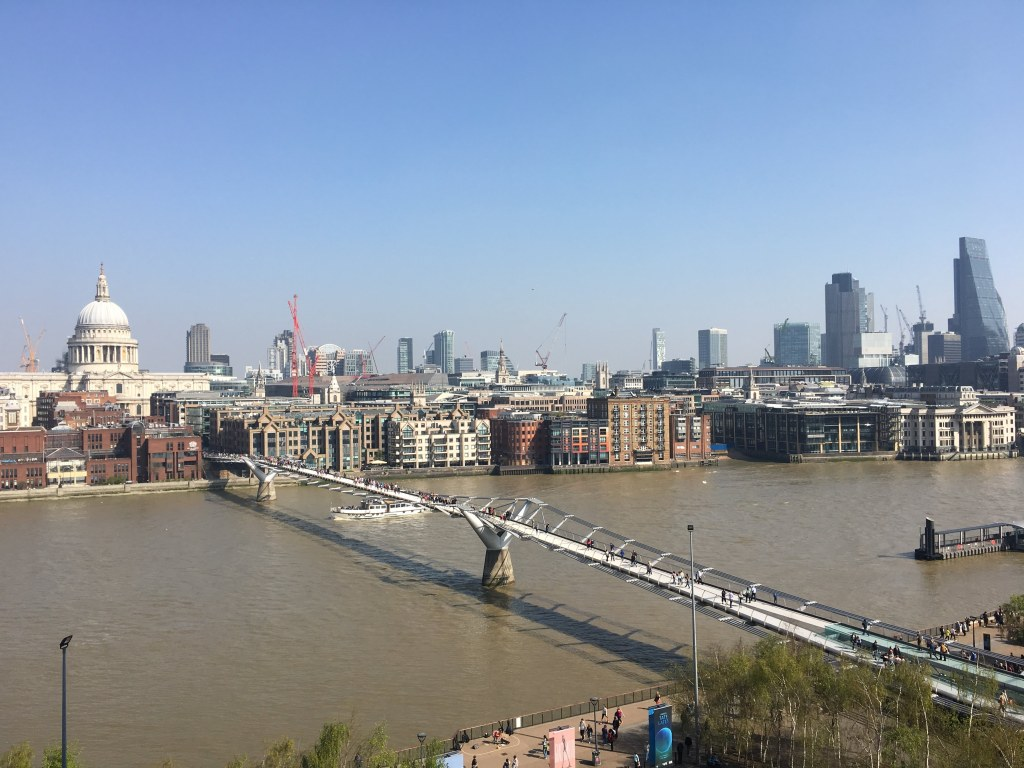 The Thames from the Tate Modern