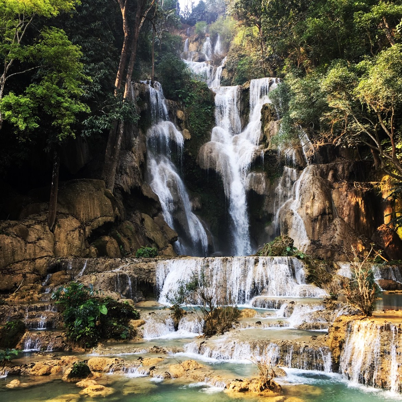 Kuang Si Falls ouside Luang Prabang