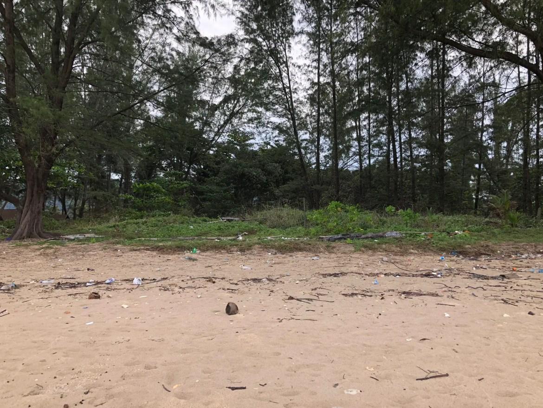 Plastic on the Beach in Koh Lanta