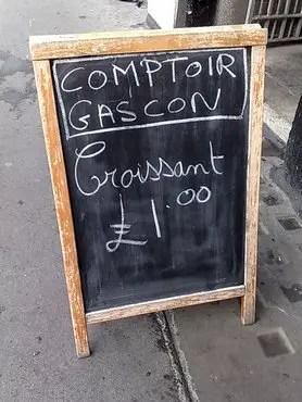 Comptoir gascon one quid croissant