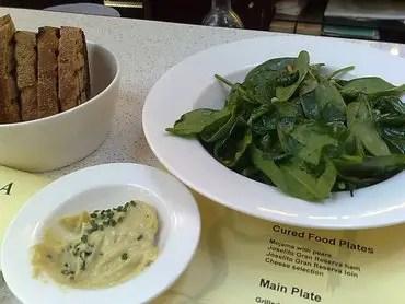 Tierra brindisa spinach