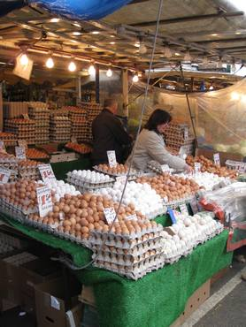 Ridley road market eggs