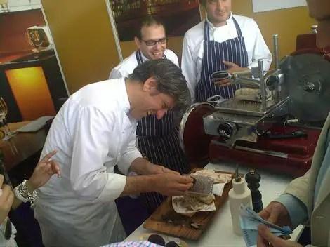 Giorgio at refettorio