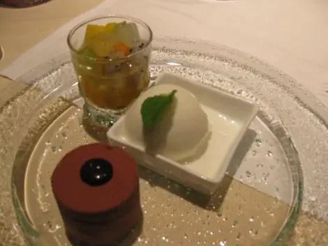Dinner desserts