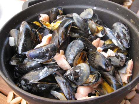 Lycorne mussels