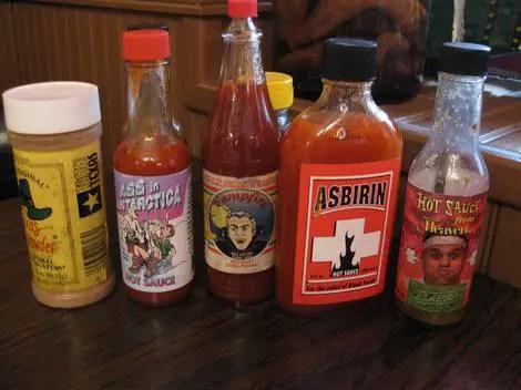 Heaven on seven hot sauce