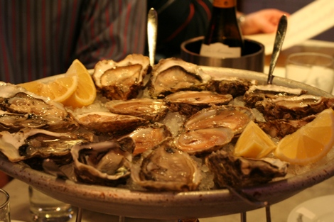 Randall and aubin oysters