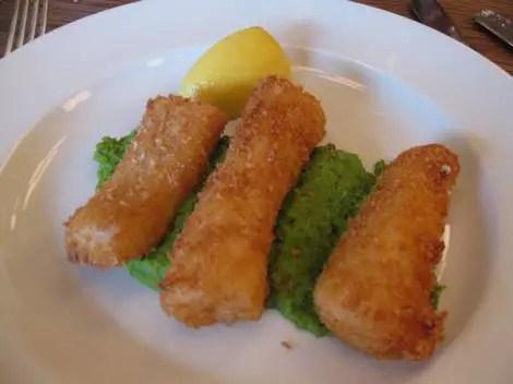 Hix soho fish fingers