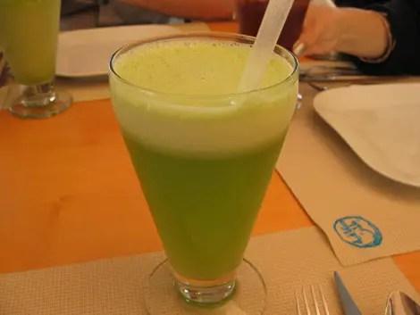 Dubai cafe blanc mint lemonade