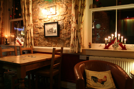 The red lion somerset inside