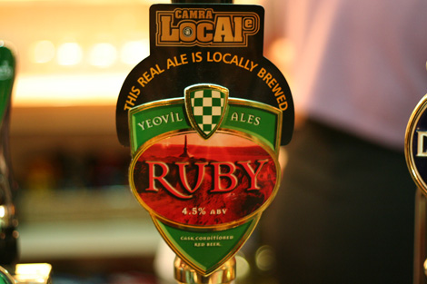 Ruby ale yeovil