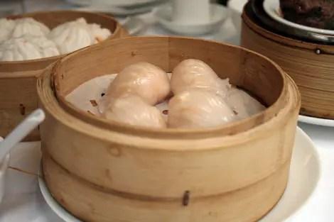 Princess garden prawn dumplings
