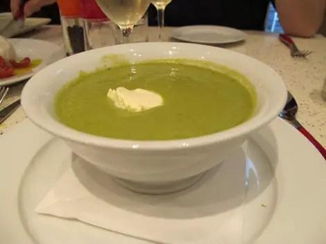 Pea soup more