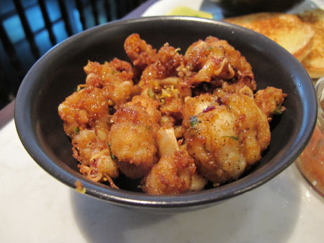 Dishoom calamari