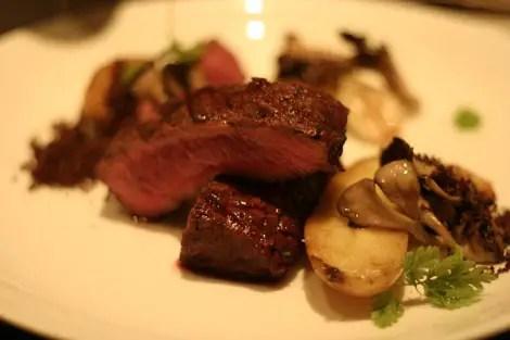 Sepia steak