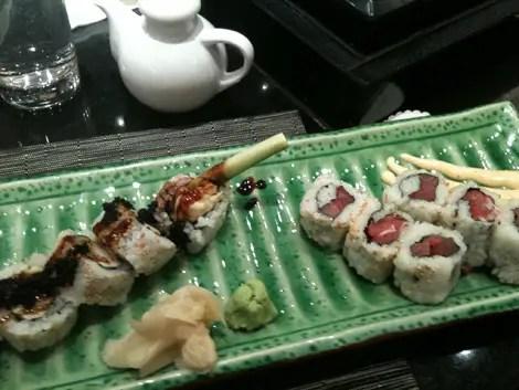 Sushi at harrods