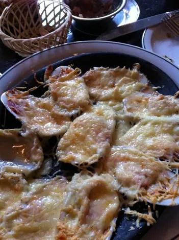 Razor clams liguria