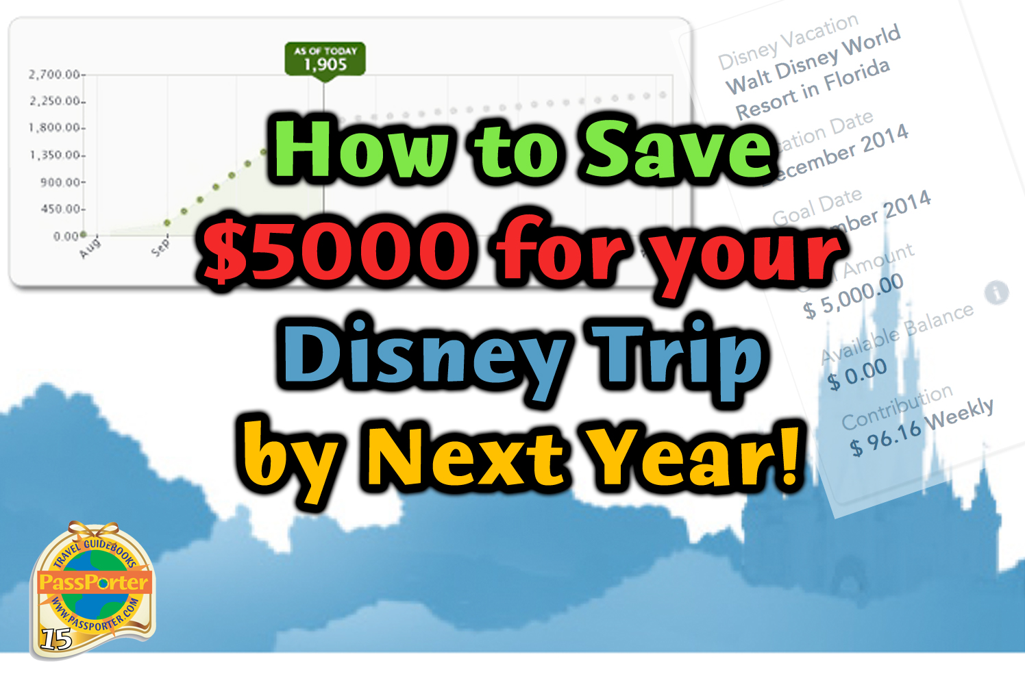 Save Money For A Disney Vacation Try The New Disney