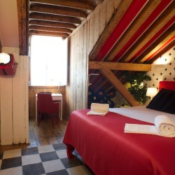 Chambre Double - Passport Hostel Lisbonne