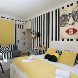 Chambres 404 - Passport Hostel Lisbonne