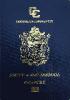 Passport cover of Antigua and Barbuda MOST POWERFUL PASSPORT RANK