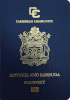 Passport cover of Antigua and Barbuda
