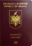 Passport cover of Albania