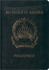 Passport cover of Angola