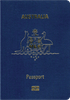 Passport cover of Australia