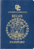 Passport cover of Belize
