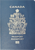 Passport cover of Canada