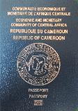 Passport cover of Cameroon