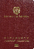 Passport cover of Colombia