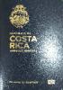 Passport cover of Costa Rica MOST POWERFUL PASSPORT RANK