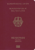 Passport cover of Germany