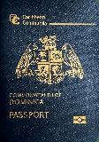 Passport cover of Dominica