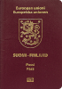 Passport cover of Finland