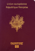 Passport cover of France