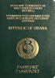 Passport cover of Ghana