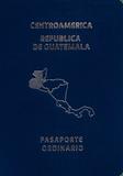 Passport cover of Guatemala