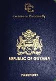 Passport cover of Guyana