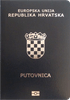Passport cover of Croatia MOST POWERFUL PASSPORT RANK