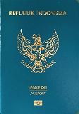 Passport cover of Indonesia