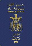 Passport cover of Iraq