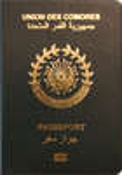 Passport cover of Comoros
