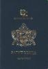 Passport cover of Saint Lucia MOST POWERFUL PASSPORT RANK
