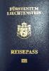 Passport cover of Liechtenstein MOST POWERFUL PASSPORT RANK