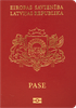 Passport cover of Latvia MOST POWERFUL PASSPORT RANK