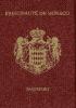 Passport cover of Monaco MOST POWERFUL PASSPORT RANK