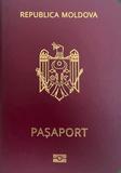 Passport cover of Moldova